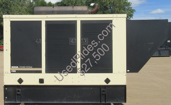 250 kw kohler john deere enclosed with tank sn 2168071 view %281%29