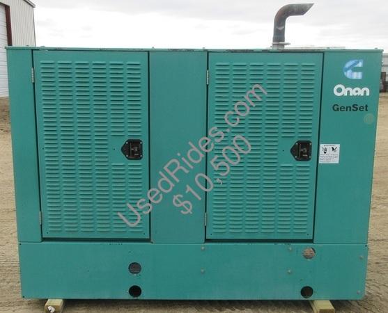 50 kw cummins onan diesel enclosed sn l000180861 view %281%29