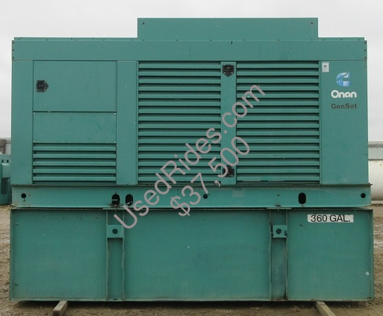 400 kw cummins onan enclosed with tank sn h000143054 view %281%29