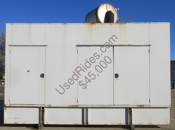 1000 kw kohler detroit enclosed with tank sn 359349 view %281%29
