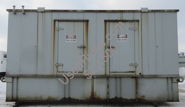 350 kw cat sound attenuated with tank sn 4zr05532 view %281%29