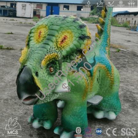 Playground dinosaur kids ride protoceratops scooter %281%29