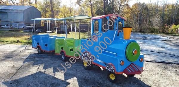 Trackless train rental