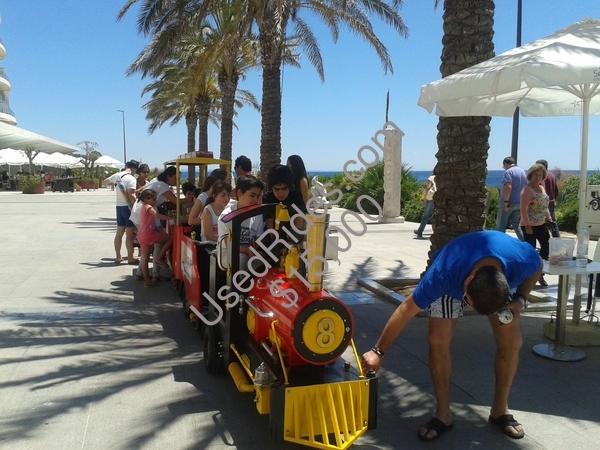 Mini comboio praia california