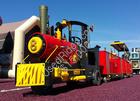 Trackless train