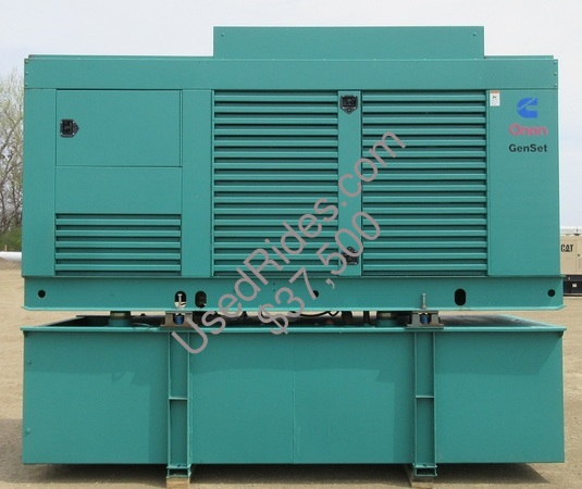 400 kw cummins onan enclosed with tank sn g000132296 view %281%29