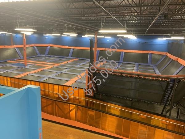 UsedRides com || 15,000 sq ft trampoline park for sale