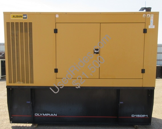 150 kw olympian perkins enclosed with tank sn oly00000cnat01518 view %281%29