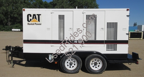 Xq125 cat rental grade diesel generator sn 9hk00251 view %281%29