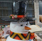 Animated talking or singing snowman christmas decorations %283%29