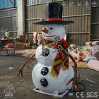 Animated talking or singing snowman christmas decorations %284%29