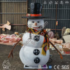 Animated talking or singing snowman christmas decorations %285%29