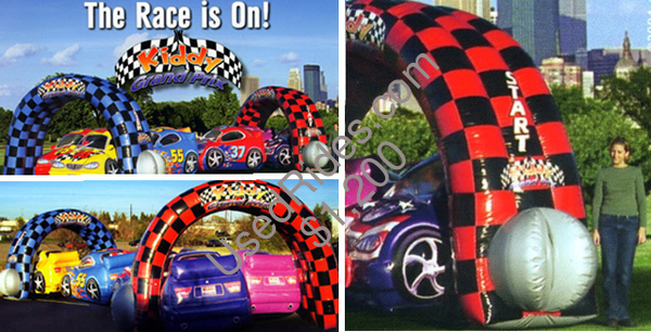 Race car themed childrens party