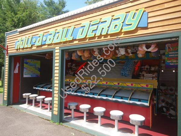 Roller ball derby  slide  water wars 038
