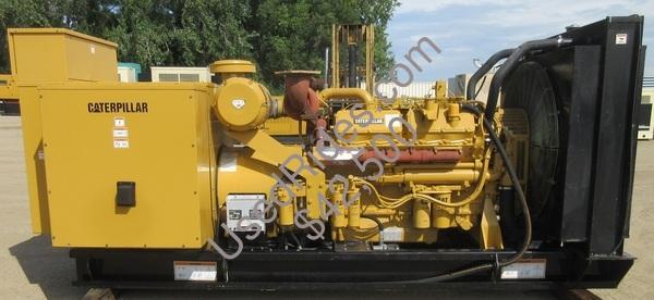 500 kw cat open frame diesel sn 3fz01727 view %281%29