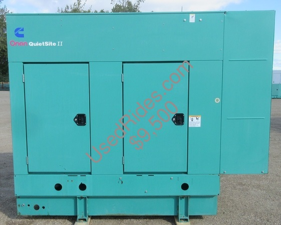 35 kw cummins onan quietsite enclosed with tank sn e000103660 view %281%29