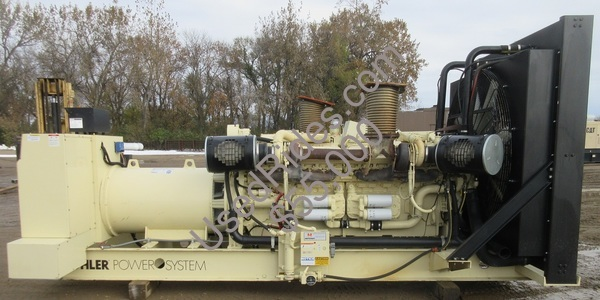 1000 kw kohler detroit diesel with drop over enclosure sn 388091 generator view %281%29