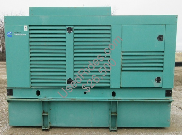250 kw cummins onan enclosed with tank sn h010273605 view %281%29