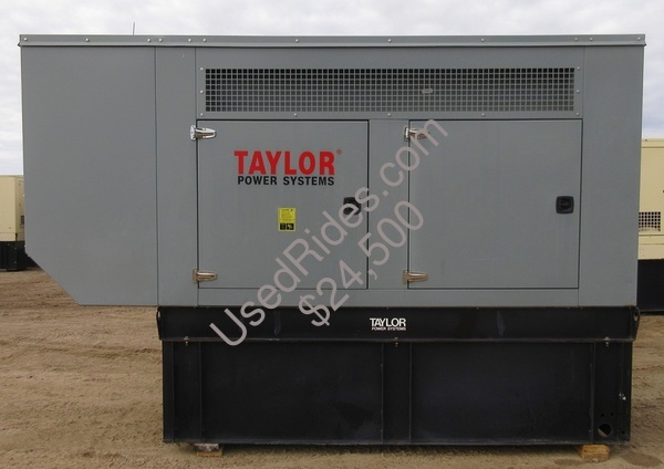 150 kw taylor perkins enclosed with tank sn 21594 view %281%29