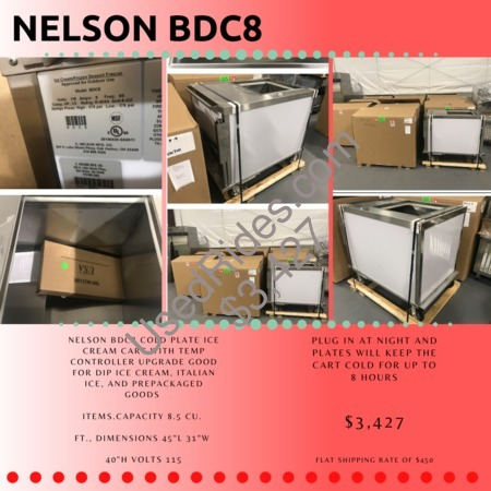 Nelson bdc8 cart