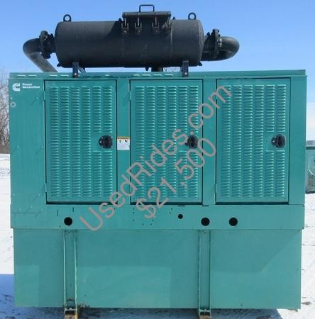 125 kw cummins onan enclosed with tank sn h070096927 view %281%29