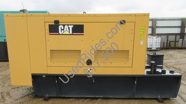 100 kw cat sound attenuated with tank sn cat00c44kn4e00965 view %282%29