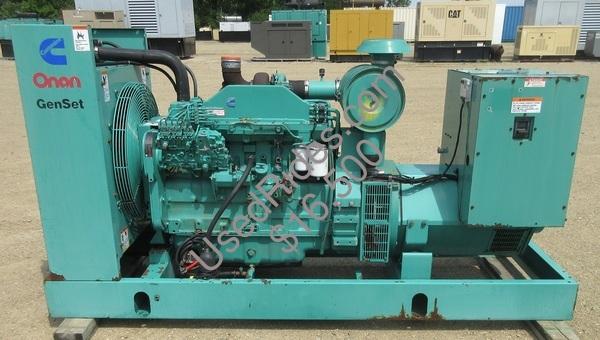 175 kw cummins onan open frame diesel sn k960623043 view %281%29