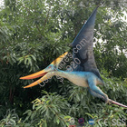 Flying pterodactyl puppet with support pole %283%29