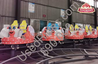 Snail spinning roller coaster for sale fabricated by sinorides