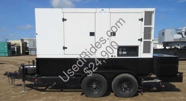 128 kw sdmo john deere rental grade diesel generator sn 0t05018634 view %281%29