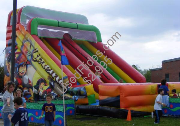 Extreme giant slide