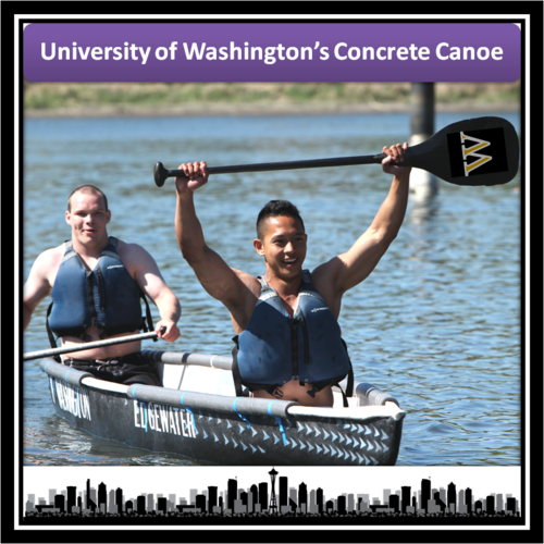 UW Concrete Canoe 2016: Can-oe Believe We're Going to Nationals!?