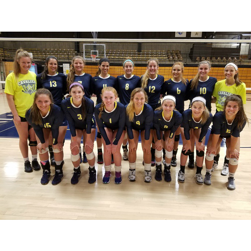 JCCC Women's Volleyball 2016