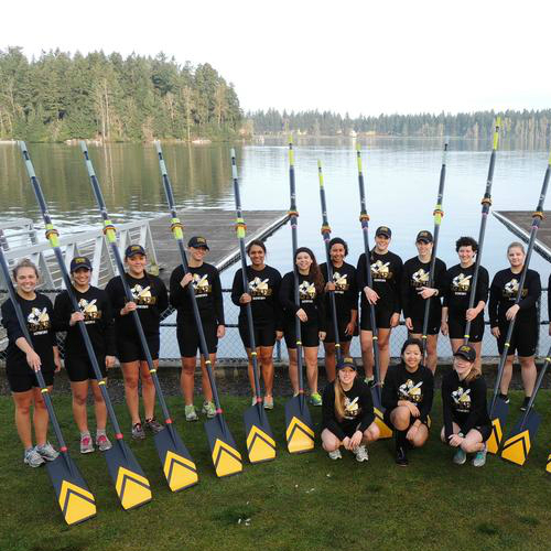 Moving the Boat: PLU Women's Rowing