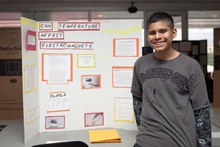 Can temperature affect electromagnets