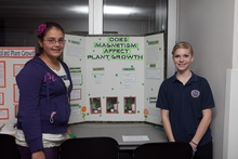Does magnetistm affect plant growth