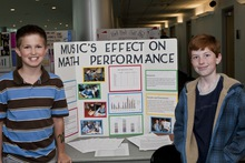 Music's effect on math performance