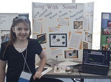 Seeing with sound using ultrasonic waves 1
