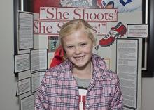 She shoots she scores