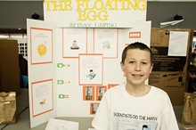 The floating egg