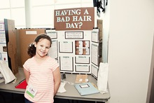 Having a bad hair day