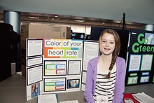 Color of your heart rate