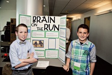 Brain on the run