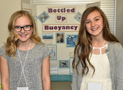 Bottled up buoyancy