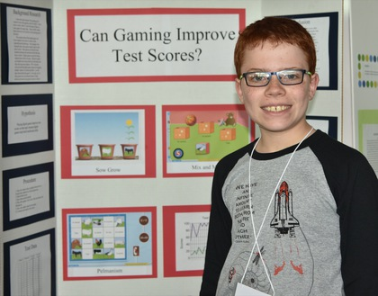 Can gaming improve test scores