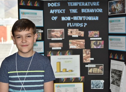Does temperature affect the behavior of non newtoian fluids