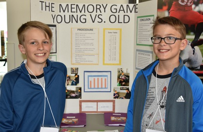 The memory game young vs old