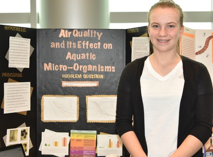 Air quality and its effect on aquatic