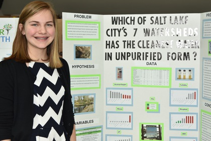 Which of salt lake citys 7 watersheds has the cleanest