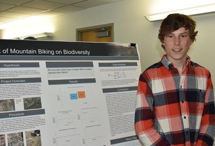 Effect of mountain biking on biodiversity